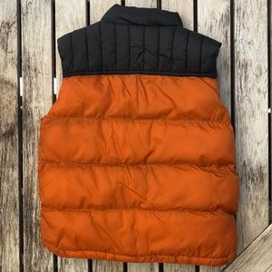 Gymboree Jackets & Coats - BOGO Toddler Boy's Orange & Black Puffy Vest